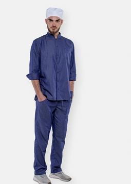 Ρουχα Εργασιας, φορμες εργασιας, στολες  της Παντελόνι τζιν με λάστιχο στη μέση ELVIS (ΚΩΔ: 50-323-1)