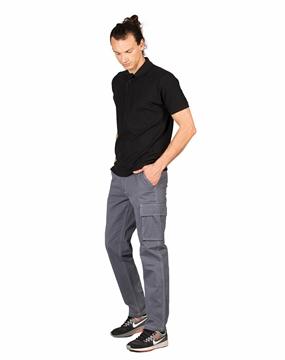 Ρουχα Εργασιας, φορμες εργασιας, στολες  της Ανδρικό παντελόνι εργασίας με ραφές σε χρωματική αντίθεση (ΚΩΔ: 2890105)
