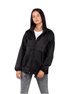Ρουχα Εργασιας, φορμες εργασιας, στολες  της Unisex αντιανεμικό με jersey επένδυση (ΚΩΔ: 00216)