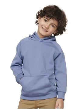 Ρουχα Εργασιας, φορμες εργασιας, στολες  της Παιδικό οργανικό φούτερ με κουκούλα (ΚΩΔ: 03576)