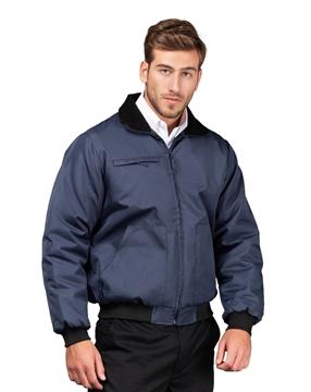 Ρουχα Εργασιας, φορμες εργασιας, στολες  της Μπουφάν Oxford με ψηλό γιακά (ΚΩΔ: 00104)
