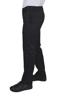 Ρουχα Εργασιας, φορμες εργασιας, στολες  της Παντελόνι μαύρο με κουμπί και λάστιχο (ΚΩΔ: 1T110)