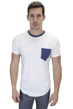 Ρουχα Εργασιας, φορμες εργασιας, στολες  της Ανδρικό t-shirt με διχρωμία και στρογγυλό τελείωμα (ΚΩΔ: NEW002)