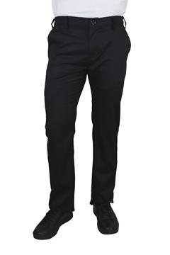 Ρουχα Εργασιας, φορμες εργασιας, στολες  της Παντελόνι μαύρο εργασίας με λάστιχο στη μέση  (ΚΩΔ:1T150)