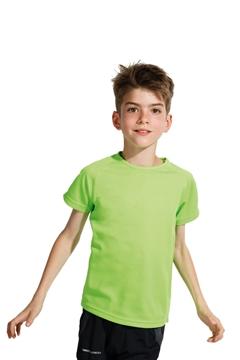 Ρουχα Εργασιας, φορμες εργασιας, στολες  της Παιδικό t-shirt από διαπνέον πολυεστέρ (ΚΩΔ: 01166)