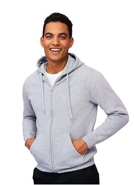 Ρουχα Εργασιας, φορμες εργασιας, στολες  της Unisex ζακέτα φούτερ 260 γρ (ΚΩΔ: 01714)