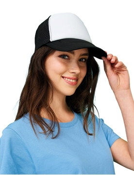 Ρουχα Εργασιας, φορμες εργασιας, στολες  της Πεντάφυλλο καπέλο με δίχτυ BUBBLE (ΚΩΔ: 01668)