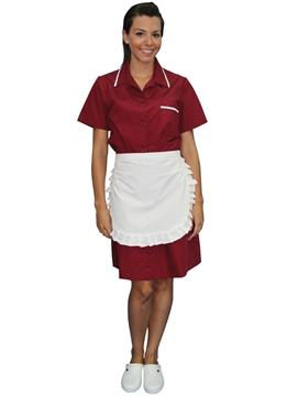 Ρουχα Εργασιας, φορμες εργασιας, στολες  της Σετ καμαριέρας (ΚΩΔ: 1B1221)