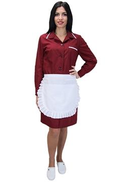 Ρουχα Εργασιας, φορμες εργασιας, στολες  της Σετ καμαριέρας (ΚΩΔ: 1N1029)