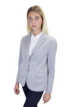 Ρουχα Εργασιας, φορμες εργασιας, στολες  της Γυναικείο Πικέ Σακάκι Blazer (ΚΩΔ: 03170)
