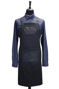 Ρουχα Εργασιας, φορμες εργασιας, στολες  της Ποδιά στήθους custom made χιαστή (ΚΩΔ: 1PSA061)