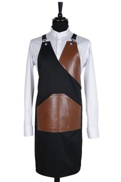 Ρουχα Εργασιας, φορμες εργασιας, στολες  της Ποδιά custom made στήθους χιαστή (ΚΩΔ: 1PSA065)