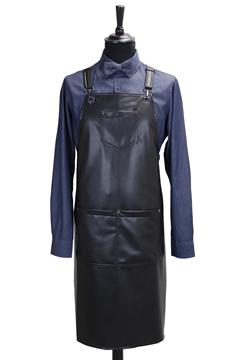Ρουχα Εργασιας, φορμες εργασιας, στολες  της Ποδια custom made από δερματίνη (ΚΩΔ: 1PSA066)