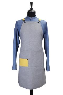 Ρουχα Εργασιας, φορμες εργασιας, στολες  της Ποδιά υφασμάτινη custom made (ΚΩΔ: 1PSA067)