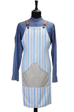 Ρουχα Εργασιας, φορμες εργασιας, στολες  της Ποδια custom made υφασμάτινη χιαστή (ΚΩΔ: 1PSA072)