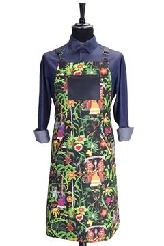 Ρουχα Εργασιας, φορμες εργασιας, στολες  της Ποδιά στήθους printed custom made (ΚΩΔ: 1PSA076)
