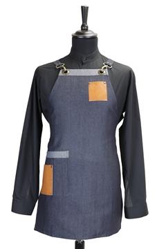 Ρουχα Εργασιας, φορμες εργασιας, στολες  της Ποδιά στήθους γυναικεία χιαστή (ΚΩΔ.:1N1058)