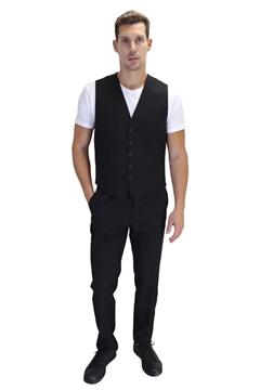 Ρουχα Εργασιας, φορμες εργασιας, στολες  της Ανδρικό γιλέκο κοστουμιού (ΚΩΔ: 03166)