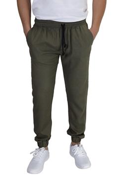 Ρουχα Εργασιας, φορμες εργασιας, στολες  της Παντελόνι λινό με λάστιχο στην μέση & πόδια (ΚΩΔ: 1TL003)