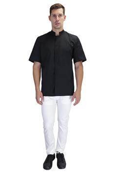 Ρουχα Εργασιας, φορμες εργασιας, στολες  της Σακάκι Σεφ με ελαστική αεριζόμενη πλάτη (ΚΩΔ: 1S1217BL)