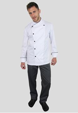 Ρουχα Εργασιας, φορμες εργασιας, στολες  της Σακάκι μαγείρου (ΚΩΔ: 1S1150A)