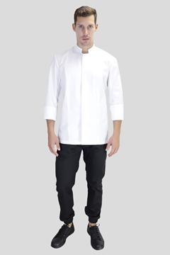 Ρουχα Εργασιας, φορμες εργασιας, στολες  της Σακάκι Σεφ με ελαστική αεριζόμενη πλάτη (ΚΩΔ: 1S1216)