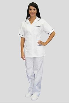 Ρουχα Εργασιας, φορμες εργασιας, στολες  της Σακάκι γυναικείο με φιτίλι (ΚΩΔ: 1S117)