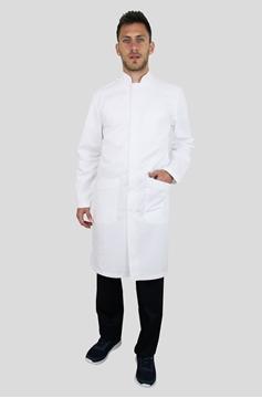 Ρουχα Εργασιας, φορμες εργασιας, στολες  της Ρόμπα αντρική με όρθιο γιακά (ΚΩΔ.410600)