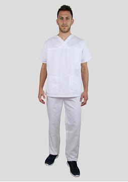 Ρουχα Εργασιας, φορμες εργασιας, στολες  της Κουστούμι λευκό νοσηλευτικό (ΚΩΔ: 3Z111)