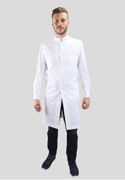 Ρουχα Εργασιας, φορμες εργασιας, στολες  της Μπλούζα ιατρική ανδρική με όρθιο γιακά (ΚΩΔ: 1B102)