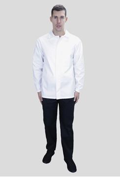 Ρουχα Εργασιας, φορμες εργασιας, στολες  της Σακάκι εργαστηριακό με προδιαγραφές για HACCP (ΚΩΔ:MEX024)