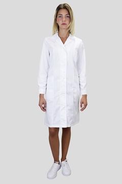 Ρουχα Εργασιας, φορμες εργασιας, στολες  της Μπλούζα εργαστηριακή γυναικεία (ΚΩΔ: MEX016)